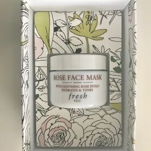 Fresh Hydrating Rose Face Mask